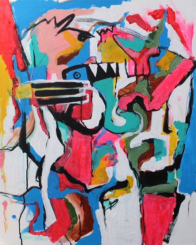 Scream_24x30-acrylic on canvas 2016-800